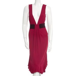 RED Valentino Hot Red Cocktail Dress